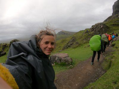 Mountain hiking in Scotland